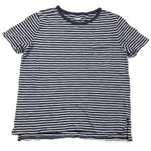 Old Navy Striped Boyfriend Tee Shirt Medium